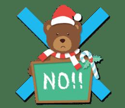 Everybody's christmas & santa claus. sticker #4686738