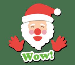 Everybody's christmas & santa claus. sticker #4686740