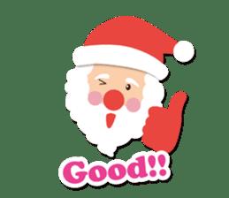 Everybody's christmas & santa claus. sticker #4686741
