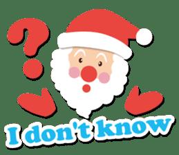 Everybody's christmas & santa claus. sticker #4686744
