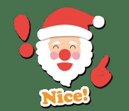 Everybody's christmas & santa claus. sticker #4686745