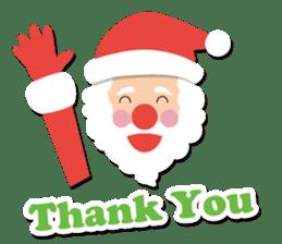 Everybody's christmas & santa claus. sticker #4686748