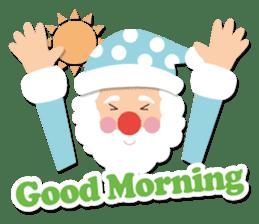 Everybody's christmas & santa claus. sticker #4686750