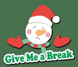Everybody's christmas & santa claus. sticker #4686759