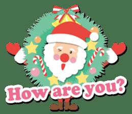 Everybody's christmas & santa claus. sticker #4686760