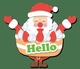 Everybody's christmas & santa claus. sticker #4686761
