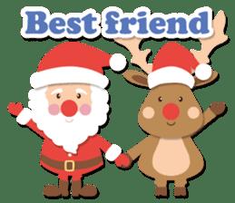 Everybody's christmas & santa claus. sticker #4686762