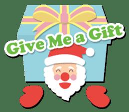 Everybody's christmas & santa claus. sticker #4686764