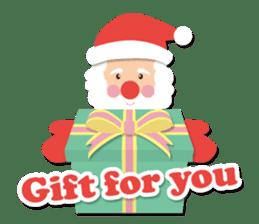 Everybody's christmas & santa claus. sticker #4686766