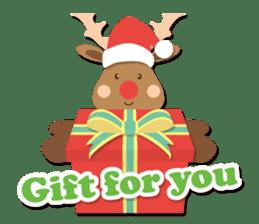 Everybody's christmas & santa claus. sticker #4686767