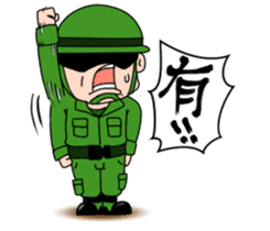 ARMY DAILY LIFE sticker #4691992