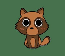 Petanko Tanuki sticker #4694968