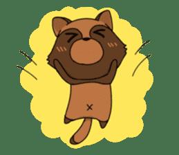 Petanko Tanuki sticker #4694972