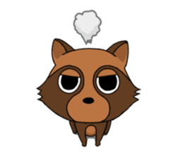 Petanko Tanuki sticker #4694978