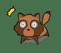 Petanko Tanuki sticker #4694984