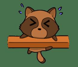 Petanko Tanuki sticker #4694991