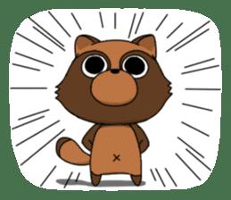 Petanko Tanuki sticker #4694994