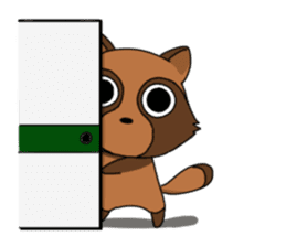 Petanko Tanuki sticker #4694998