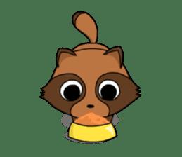 Petanko Tanuki sticker #4695003