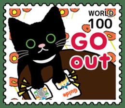 Stamp Sticker(CAT) sticker #4695783