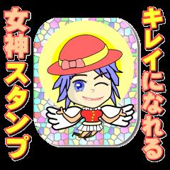 Beauty Angel Sticker