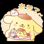 สติ๊กเกอร์ไลน์ Pompompurin's Pastel Cuteness