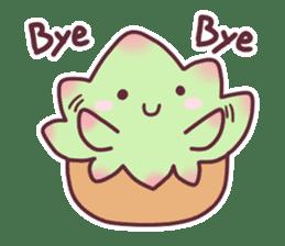 succulent plant party(International) sticker #4702193