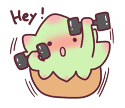 succulent plant party(International) sticker #4702194