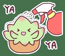 succulent plant party(International) sticker #4702196
