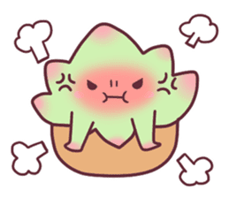 succulent plant party(International) sticker #4702197