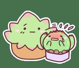 succulent plant party(International) sticker #4702227