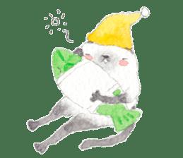 The siamese cat run hot and cold. sticker #4702532