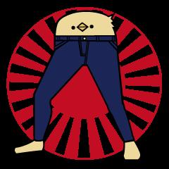 ja-ji tori sticker