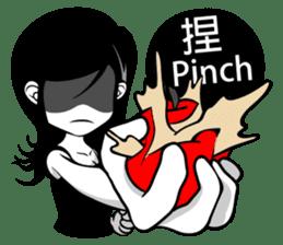 """Girl friend""""part1"""" sticker #4713592"""