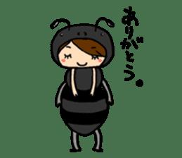 KIGURUMI-wife sticker #4713878