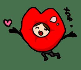 KIGURUMI-wife sticker #4713879
