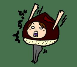 KIGURUMI-wife sticker #4713888