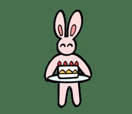 japanese kawaii rabbit sticker sticker #4713999