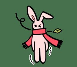 japanese kawaii rabbit sticker sticker #4714003