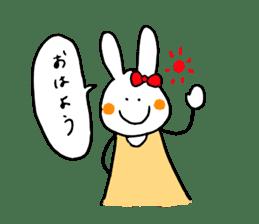Mii of a rabbit sticker #4715272