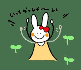 Mii of a rabbit sticker #4715273