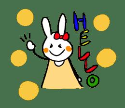 Mii of a rabbit sticker #4715274