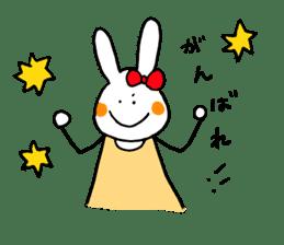Mii of a rabbit sticker #4715275