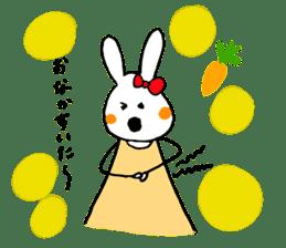 Mii of a rabbit sticker #4715278