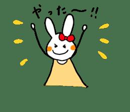 Mii of a rabbit sticker #4715279