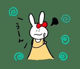 Mii of a rabbit sticker #4715281