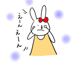 Mii of a rabbit sticker #4715283