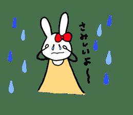 Mii of a rabbit sticker #4715285