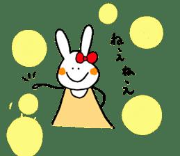 Mii of a rabbit sticker #4715295