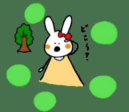 Mii of a rabbit sticker #4715299